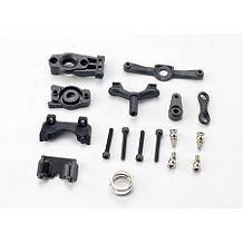 TRA7043: Steering Arm(Upper&Lower), FR&R Shock Mnts:1/16
