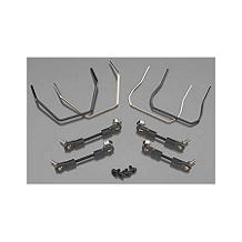 TRA6898: Sway Bar Kit (Front & Rear): Slash 4x4