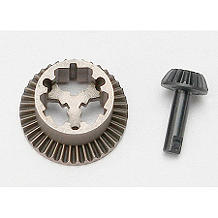 TRA7079: Diff, Ring Gear & Pinion Gear: 1/16 SLH, ERV